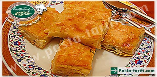 sodalı börek yapımı